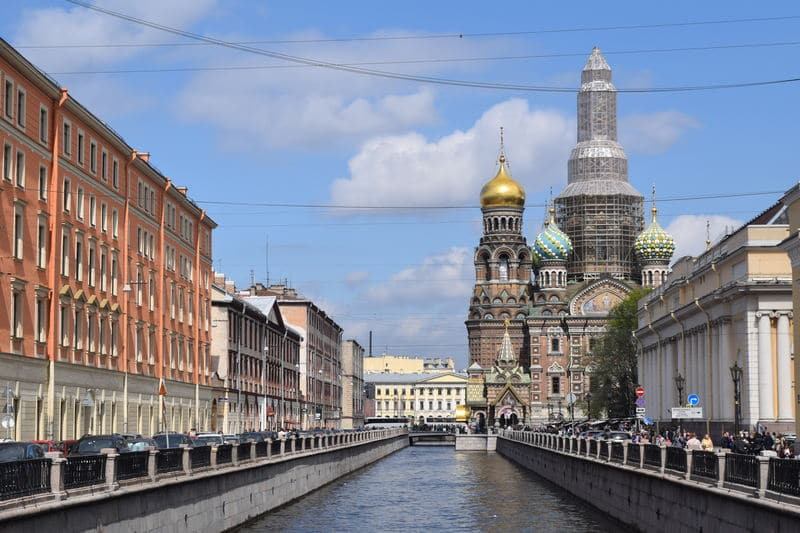 The Church of the Savior on the Spilled Blood in St. Petersburg