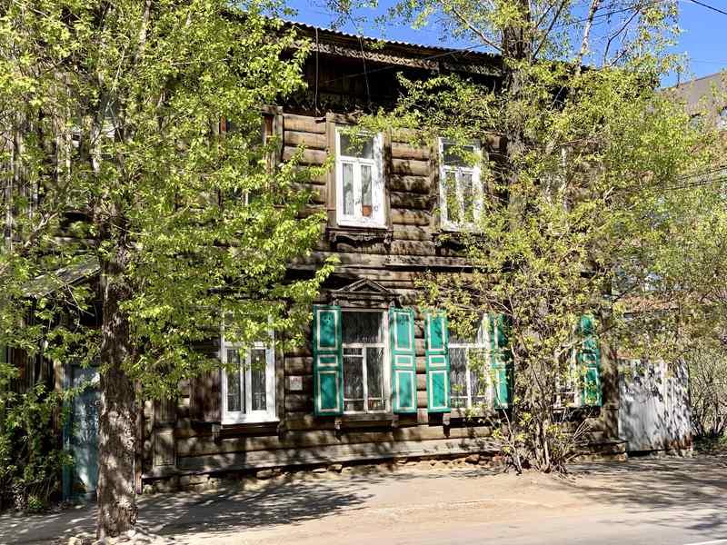 Wooden Architecture Irkutsk Russia