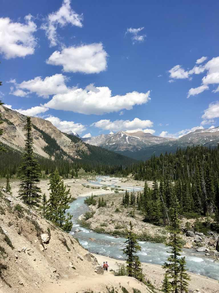 Bow Glacier Falls - Alberta Canada