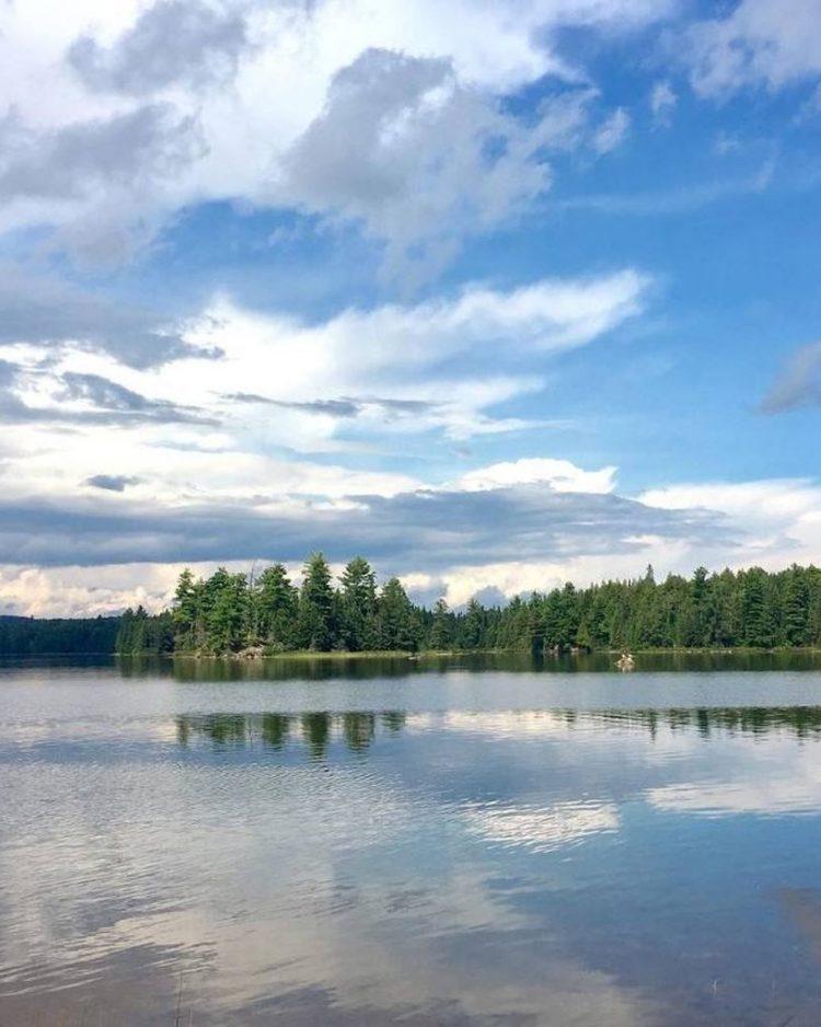 Canisbay Lake Algonquin Park Ontario