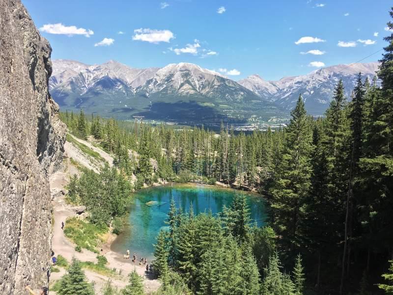 Grassi Lakes Trail Canmore Alberta