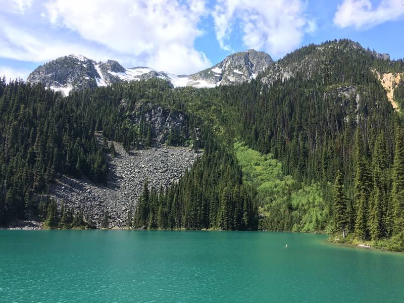 Joffre Lakes Provincial Park BC