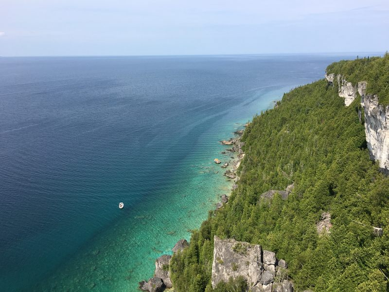 Lions Head Bruce Peninsula in Ontario