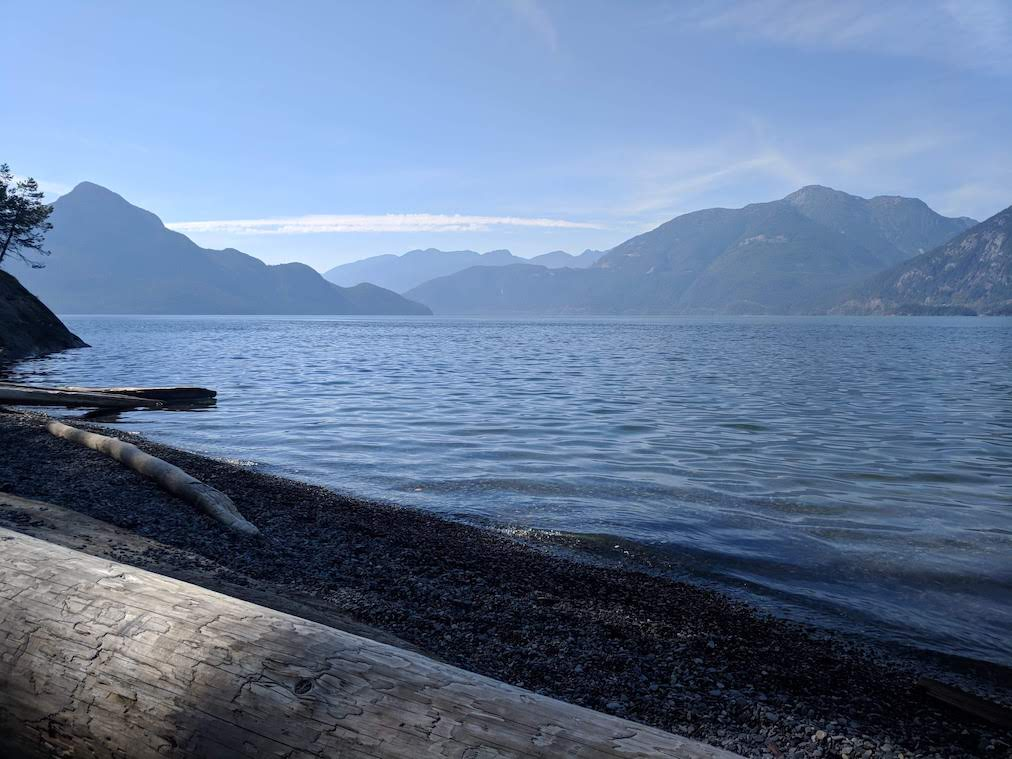 View from Porteau Cove