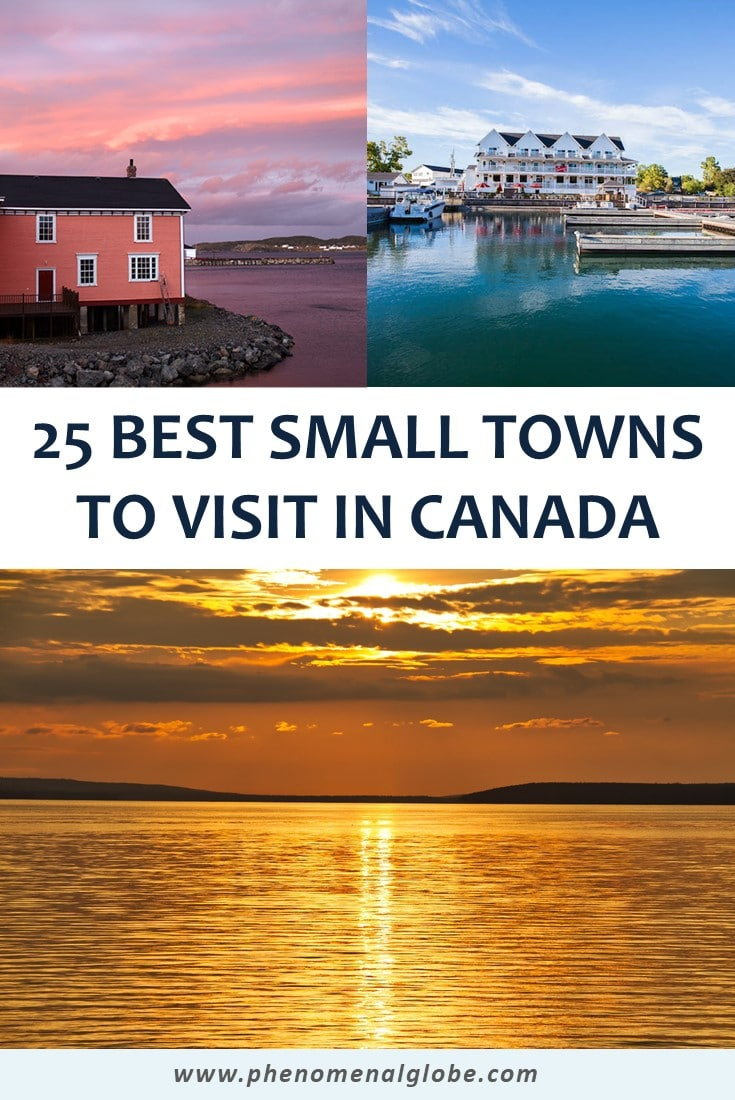 Check out these off the beaten track small towns in Canada! These incredible Canadian villages are highly worth a spot on your Canada travel bucket list! #Canada #SmallTowns #OffTheBeatenTrack