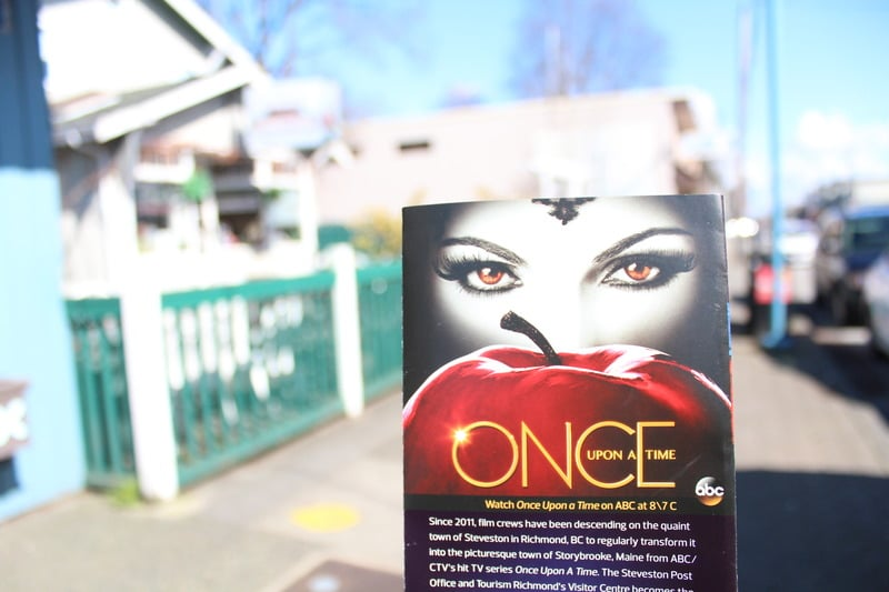 Steveston filming location of Once Upon A Time