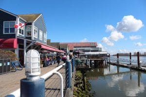 Steveston seaside town south of Vancouver