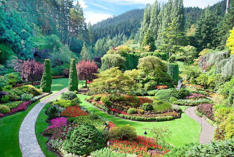 The Butchart Gardens Victoria BC