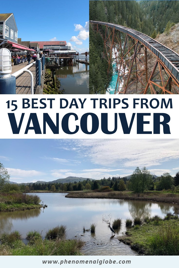 Click here to read about the best day trips from Vancouver! These epic Vancouver day trips can be visited in one day and easily reached from Vancouver by car or ferry. #Vancouver #Canada #BeautifulBC