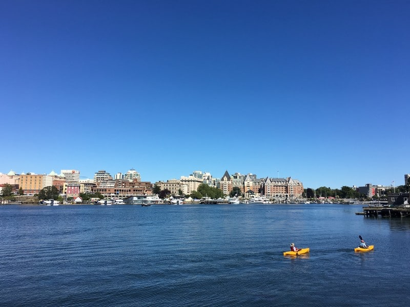 Victoria BC panorama Inner Harbour