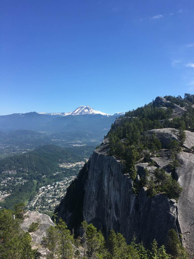 View from Stawamus Chief BC