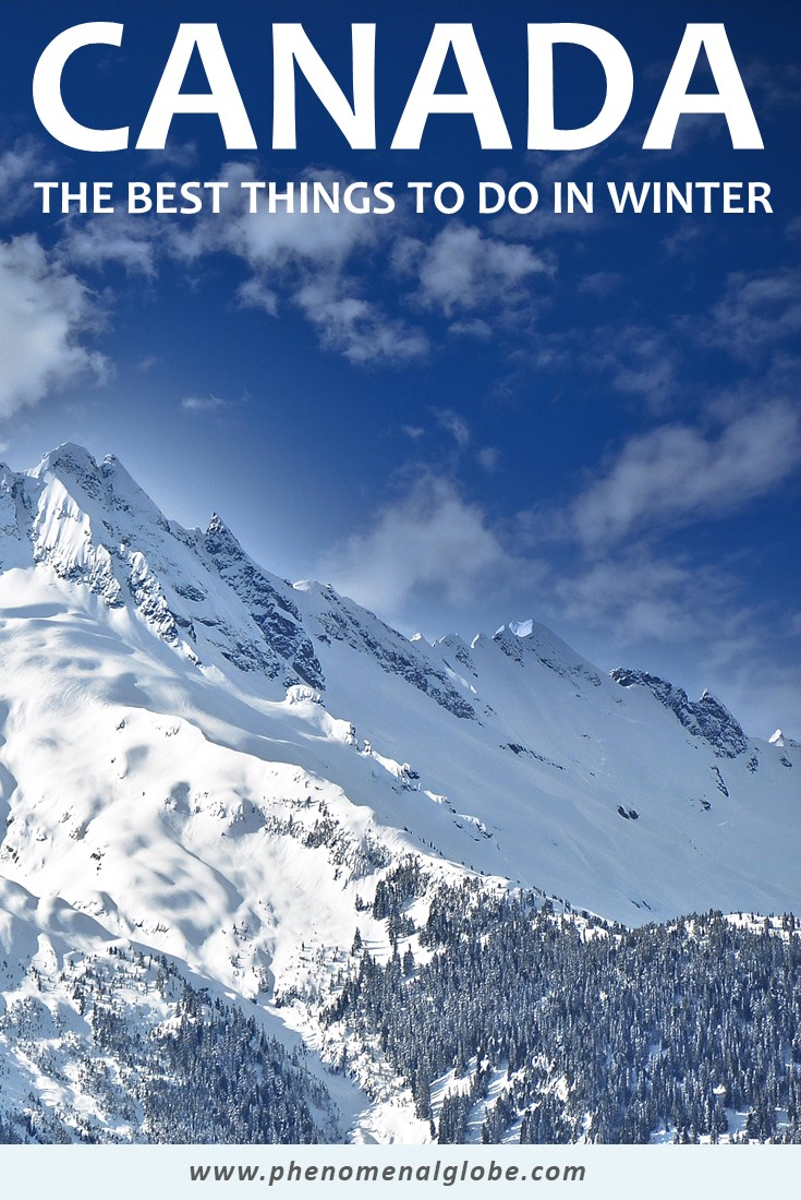 Looking for the best things to do in Canada in the winter? Check out these 20 fun winter activities in Canada for a great Canada winter experience! #Canada #Winter #Bucketlist