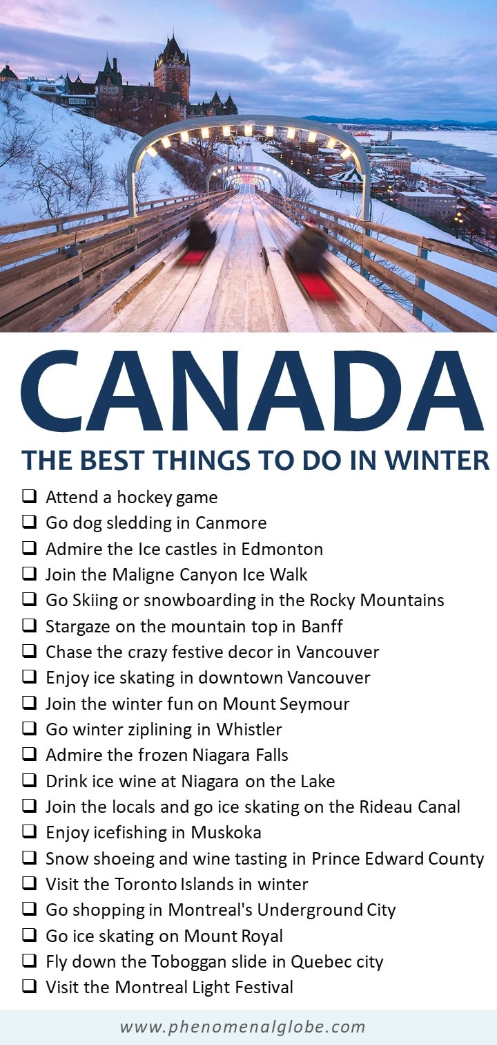 The 20 Best Things To Do In Canada In Winter