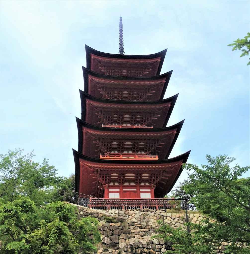 Five Story Pagoda Miyajima Island