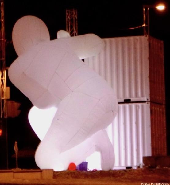 Art on Montreal Light Festival