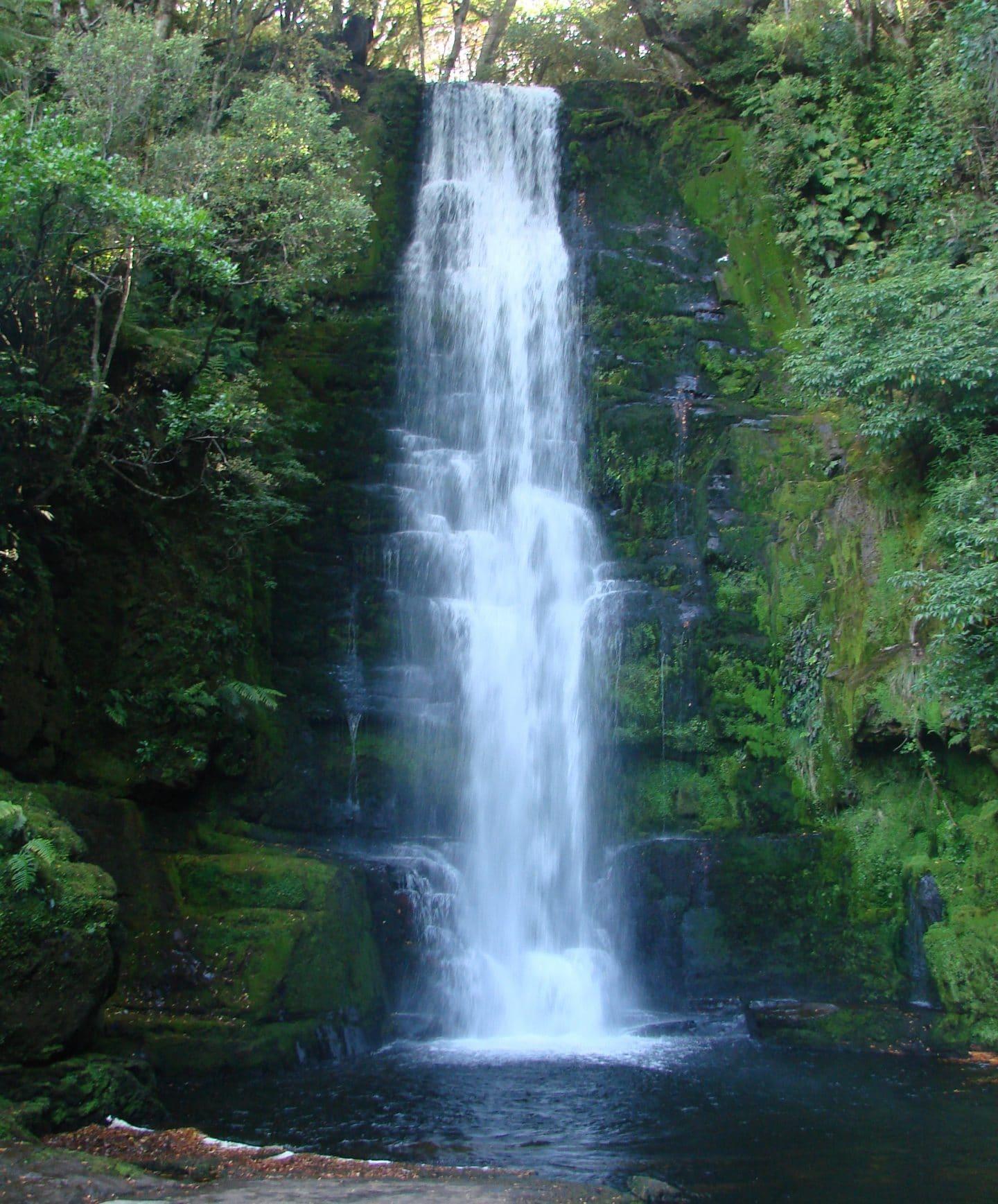 McLean Waterfall New Zealand South Island