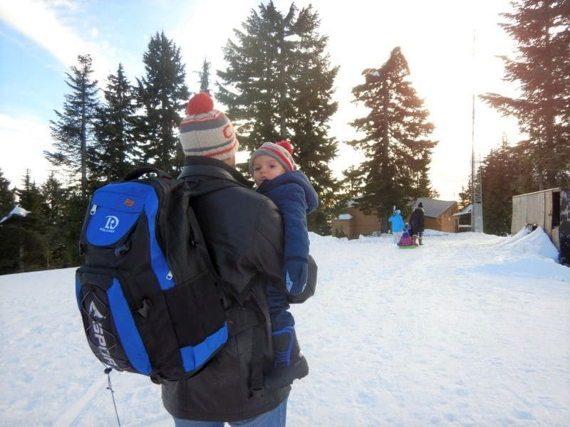 Mount Seymour Vancouver Tobogganers - photo by Lindsay Lalonde