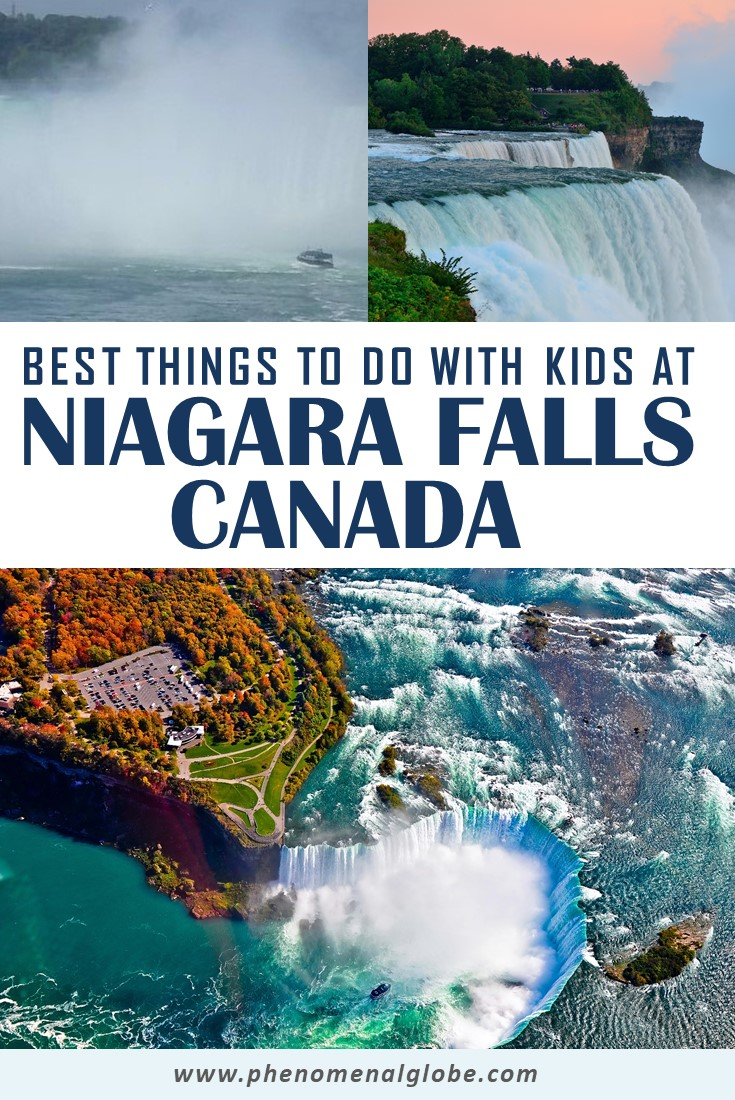 Planning a family visit to the Niagara Falls, Canada? Check out this guide by a frequent visitor with the best things to do in Niagara Falls with kids! Plus insider tips where to stay, where to eat and how to safe money when visiting Niagara Falls with your family. #NiagaraFalls #Canada #FamilyTravel