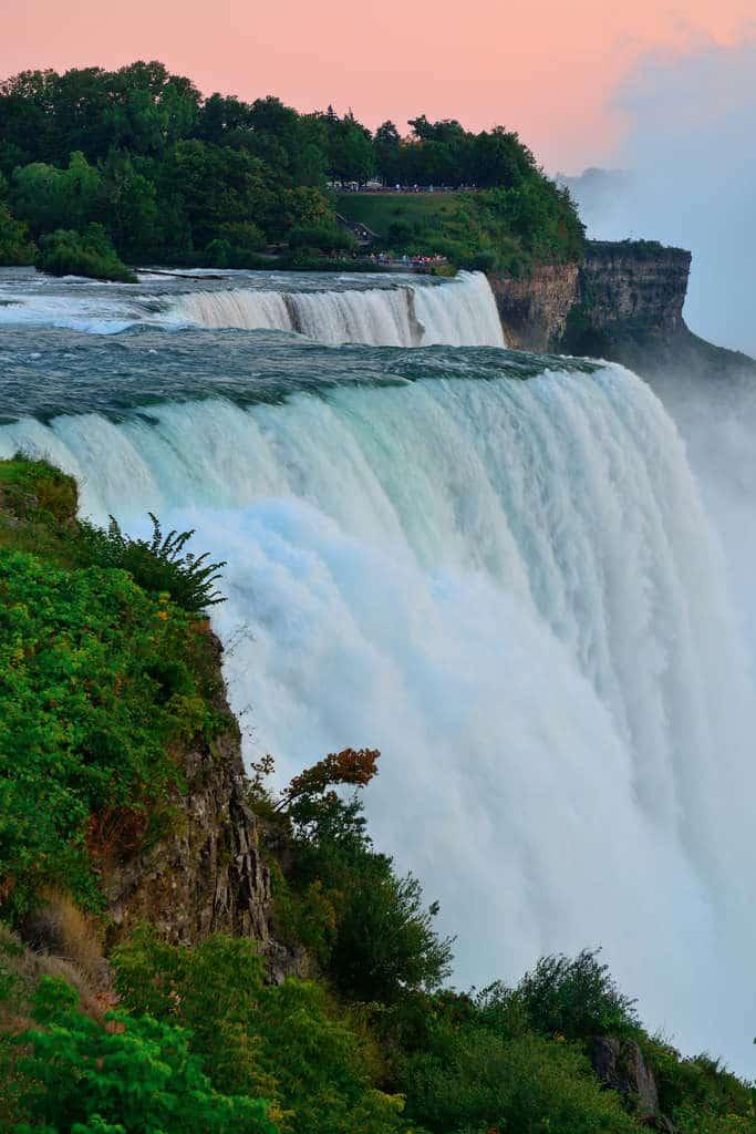 Niagara Falls by dusk