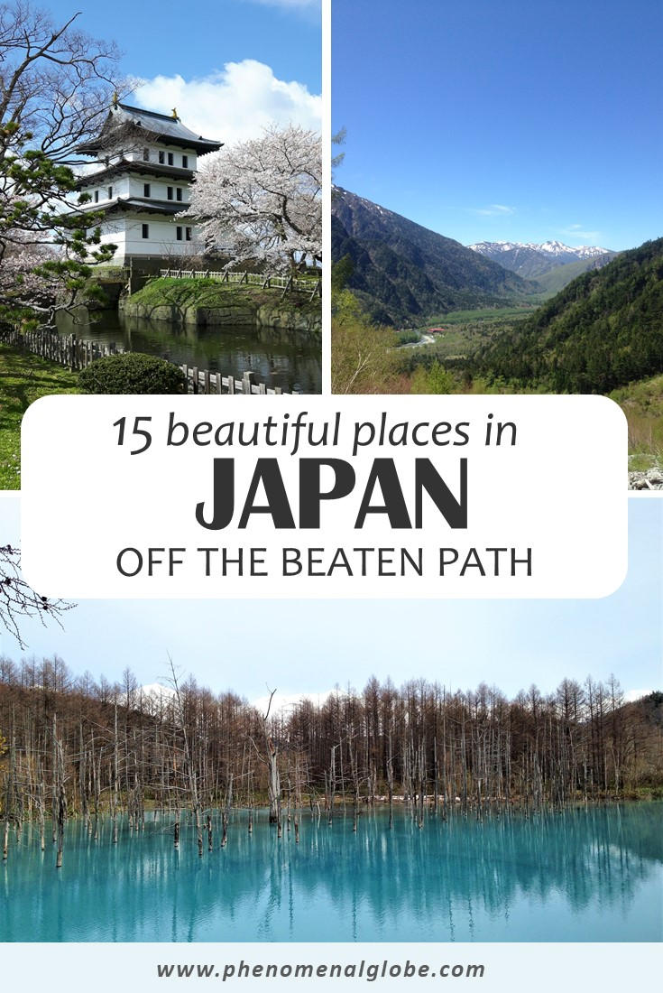 Looking for Japan off the beaten path? Check out these 15 alternative places to visit in Japan, perfect for those looking to see a different side of Japan. #Japan #OffTheBeatenPath #TravelJapan