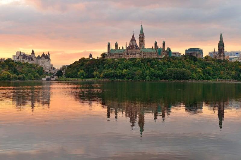 Ottawa in morning light