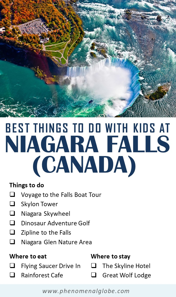 Planning a family visit to the Niagara Falls, Canada? Check out this local guide with the best things to do in Niagara Falls with kids! Includes insider tips where to stay, where to eat and how to save money when visiting Niagara Falls with your family. #NiagaraFalls #Canada #FamilyTravel