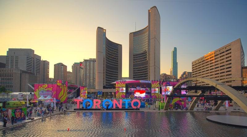 Toronto Water Fountains
