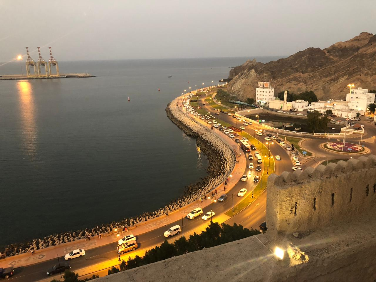 Hiking in Muttrah Muscat Oman