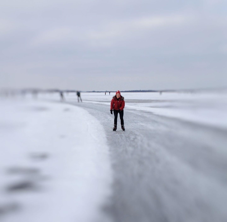 Ice skating Calgary