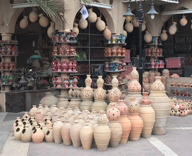 Muttrah Souq Oman Muscat