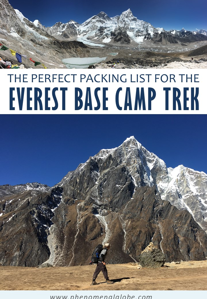 The perfect tried and tested packing list for hiking to Everest Base Camp. Including downloadable checklist + tips & tricks to save money while on the trek. #EBC #Nepal #PackingList