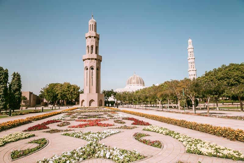 Sultan Qaboos Mosque Muscat Oman