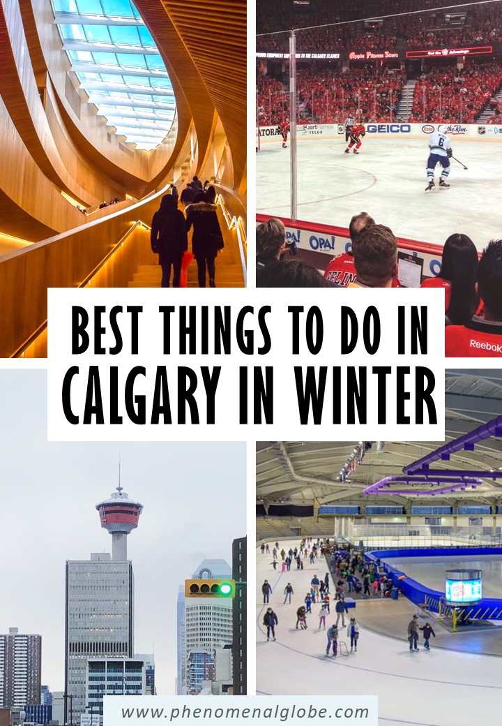 Looking for the best things to do in Calgary in the winter? Check out these fun winter activities in Calgary for a great Calgary winter trip! #Calgary #Canada #wintertrip
