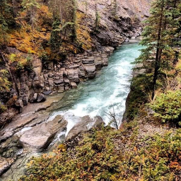 Maligne Canyon in Jasper National Park