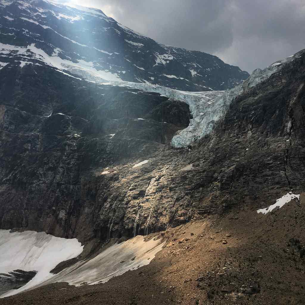Mount Edith Cavell Jasper Canada