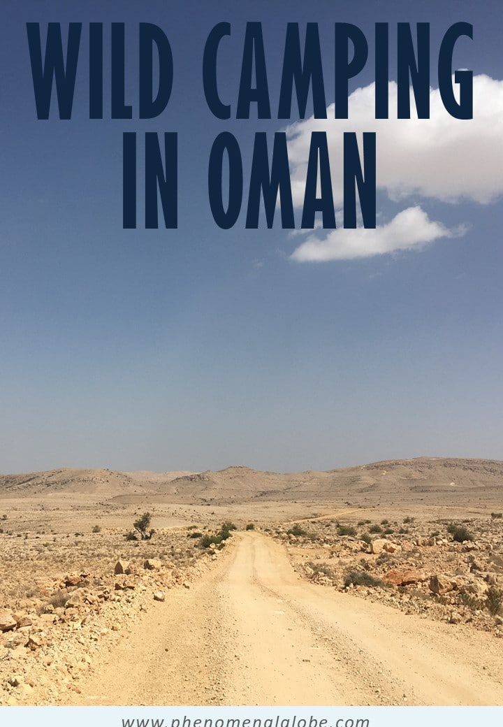 Oman is the perfect country to go camping! Wild camping in Oman is legal and you'll be able to stay at deserted beaches, in the mountains and sleep in the desert. Check out 11 great campsites (wild camping) and 5 amazing hotels (for when you need to freshen up). #Oman #camping #roadtrip