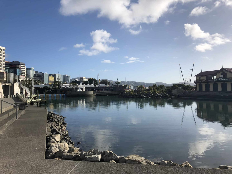 New Zealand Wellington Waterfront by Ioana Stoica