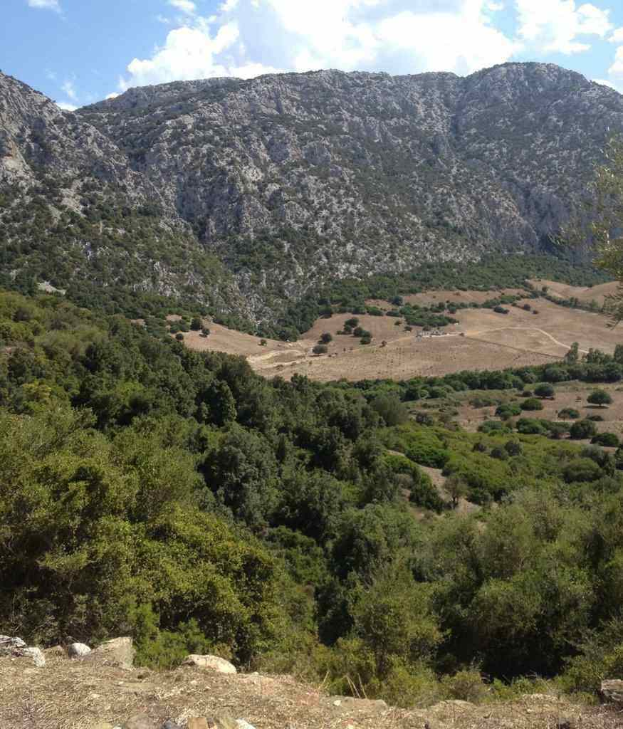 Valle di Lanaittu on Sardinia