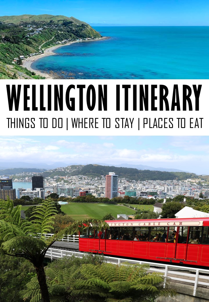 In this Wellington itinerary you can find the best Wellington attractions and a printable map to help you plan your Wellington trip. #Wellington #NewZealand