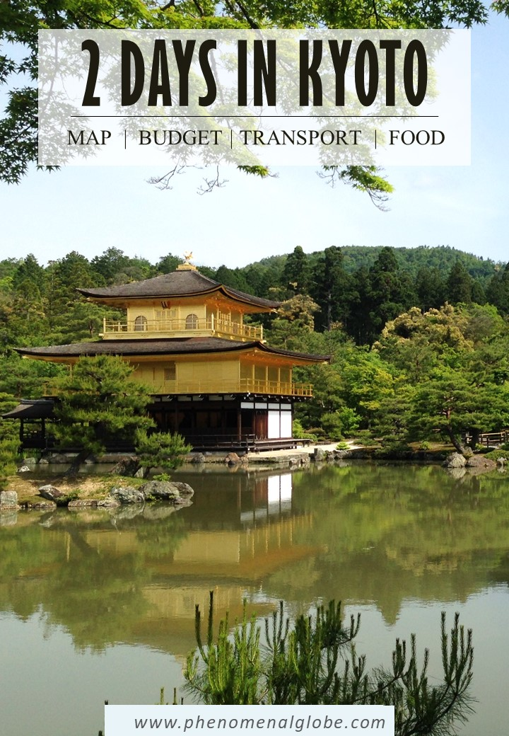 Kyoto 2 day itinerary with the best things to do in Kyoto including Kinkaku-ji (Golden Pavilion), Fushimi Inari Taisha shrine and Arashiyama Bamboo Forest. #Kyoto #Japan