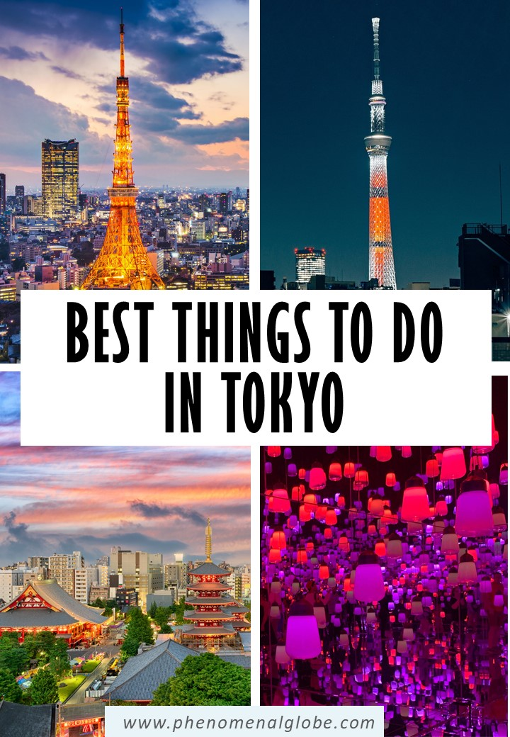 The perfect Tokyo 5 day itinerary including the best things to see in Tokyo, Tokyo travel tips, how to get around in Tokyo and where to stay! #Japan #Tokyo