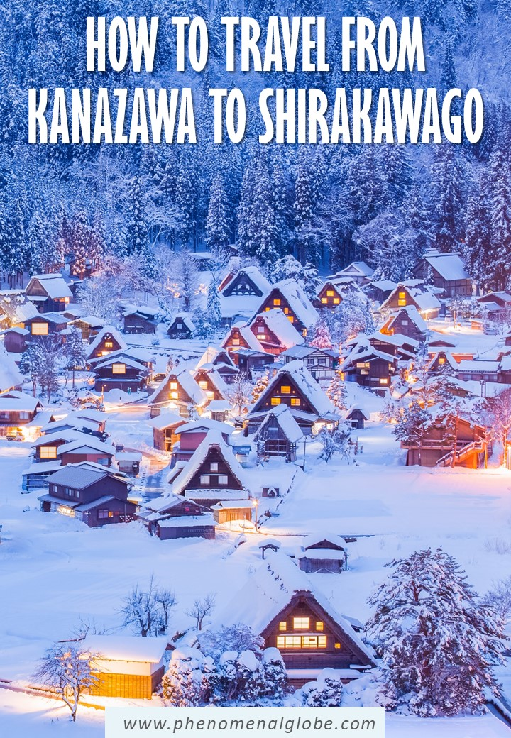 Step by step guide how to travel from Kanazawa to Shirakawago by bus or by car. Detailed guide including departure times, fares and toll costs. #Shirakawago #Japan