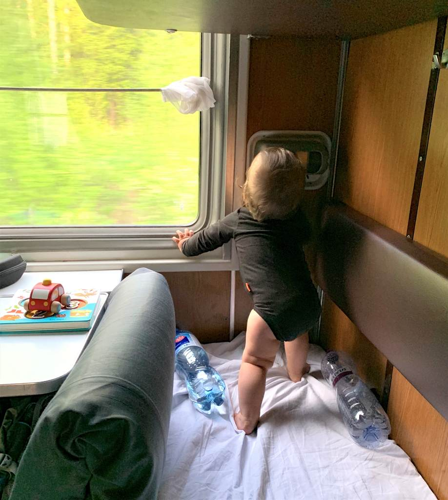Trans Siberian with a baby