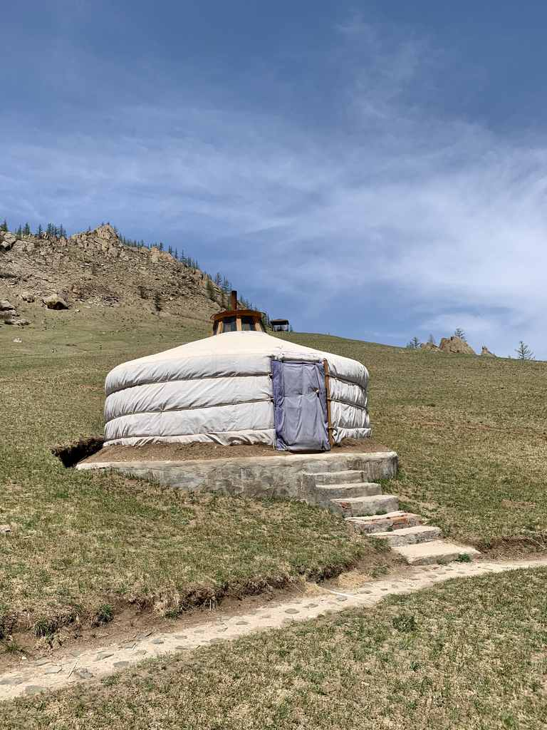 Yurt in Terijl National Park Mongolia