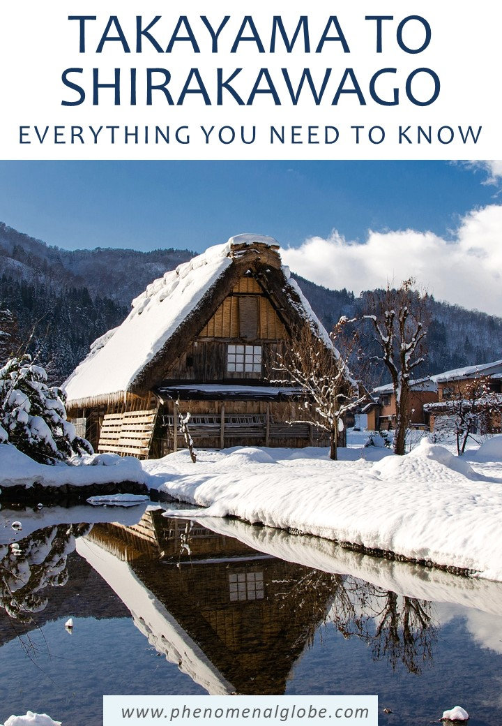 Step by step guide how to travel from Takayama to Shirakawago by bus, tour or car. Detailed guide including departure times, fares, toll costs and more. #Takayama #Shirakawago #Japan