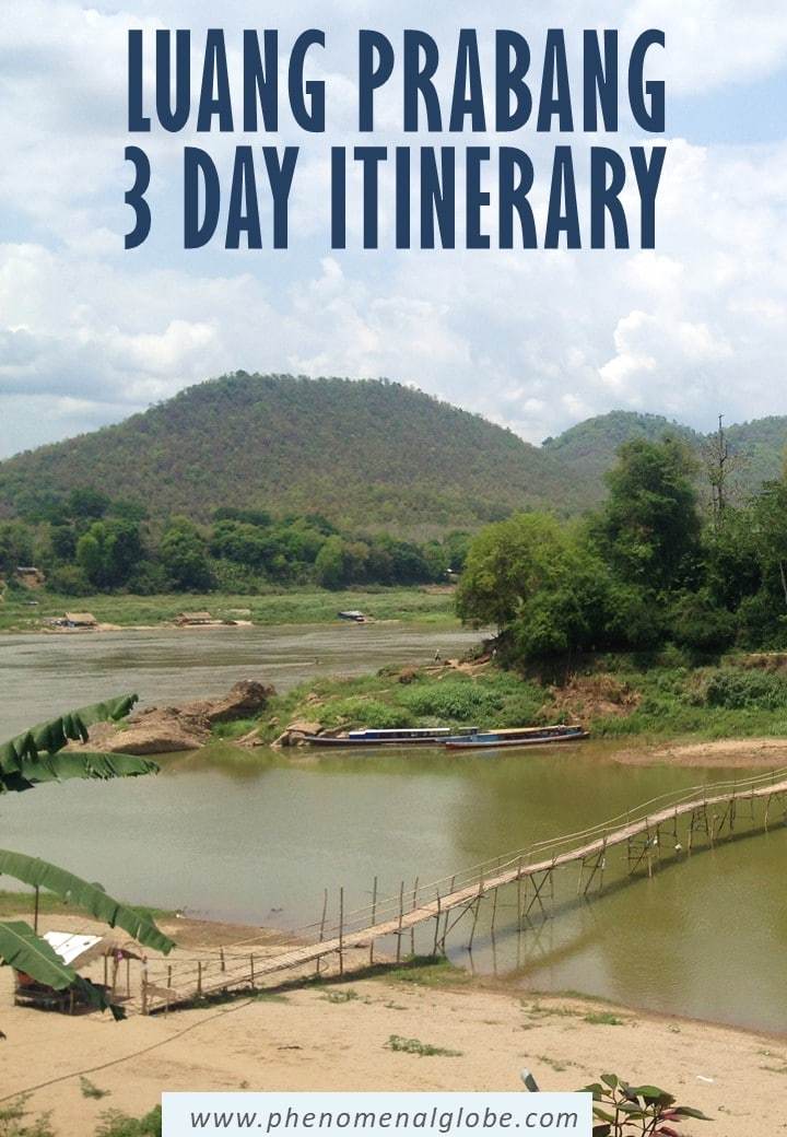 Planning a trip to Luang Prabang? This detailed Luang Prabang itinerary (with map) will help you make the most of your 3 days in Luang Prabang in Laos. #LuangPrabang #Laos #SEAsia