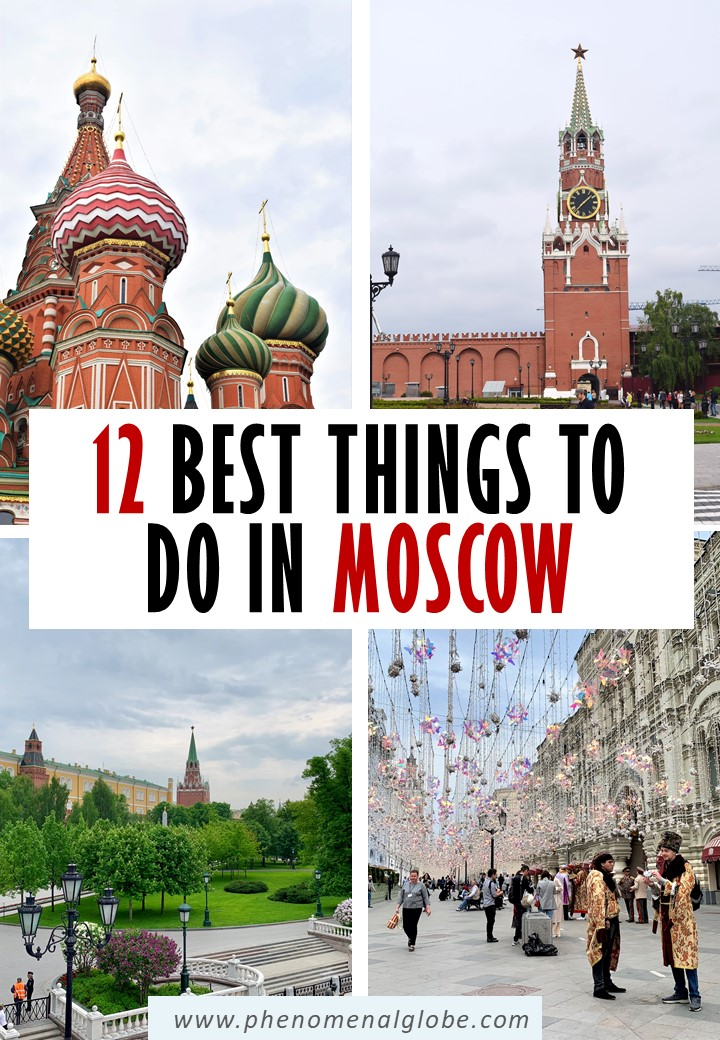 Planning a trip to Moscow? This detailed Moscow itinerary will help you plan your trip and discover the best things to do in Moscow. #Moscow #Russia #CityTrip