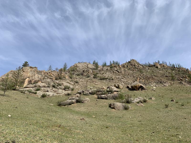 Bogd Khan Mountain Mongolia