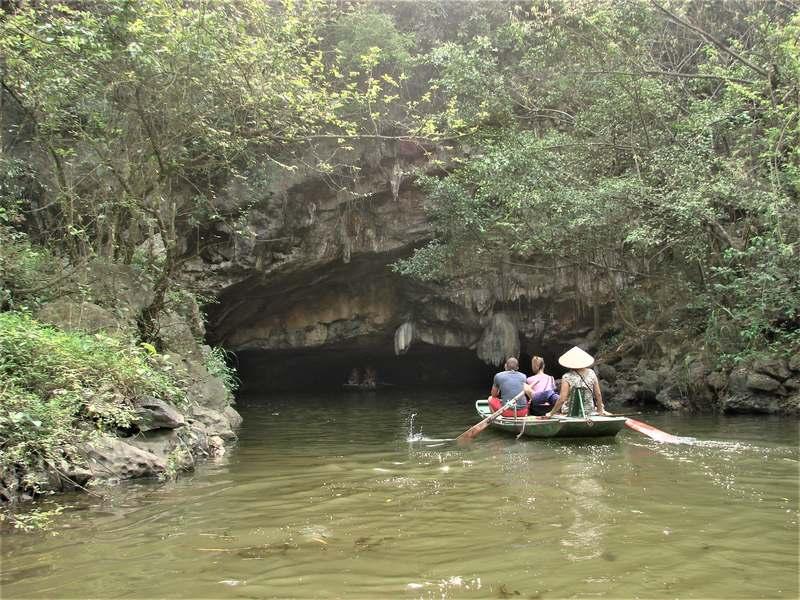Caves of Tam Coc Vietnam