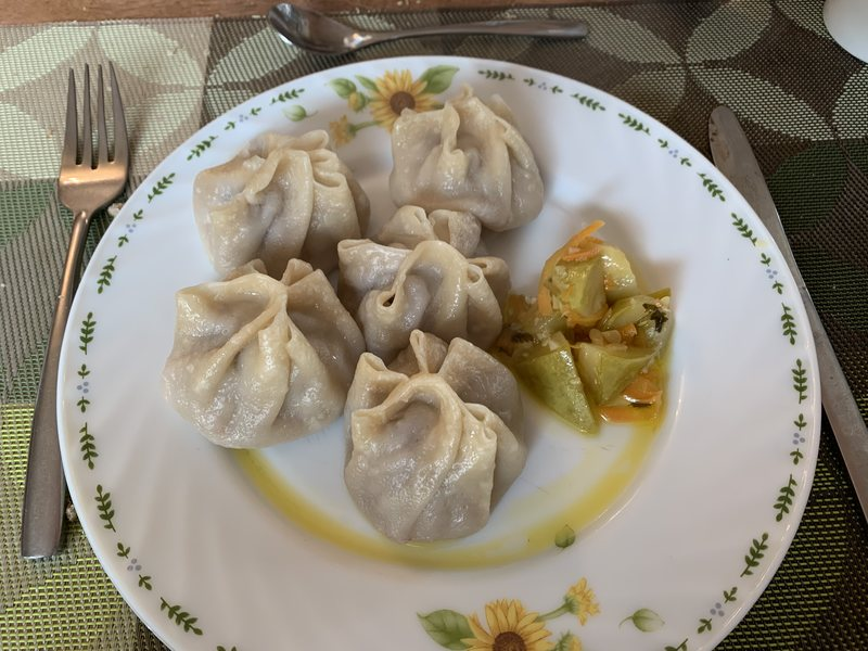 Dumplings Luna Blanca Ulaanbaatar